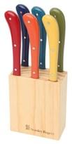 Stanley Rogers Pistol Grip Provincial Steak Knife 6 Piece Set Multicolour