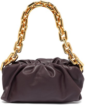 Bottega Veneta 'THE CHAIN POUCH' Chain Handle Leather Bag