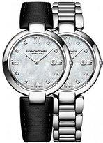 Raymond Weil Women's 'Shine' Swiss Quartz Stainless Steel Watch, Color:Silver-Toned (Model: 1600-ST-00995)