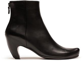 Tracey Neuls - SNUG | Black Leather High Heel Boot - 36