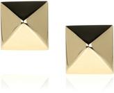 Spike 14-karat gold stud earrings