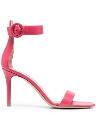 Gianvito Rossi Portofino 90mm leather sandals