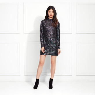 Rachel Zoe Pierina Iridescent Sequin Mini Dress