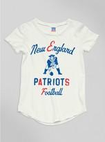 Junk Food Clothing Kids Girls Nfl New England Patriots Tee-sugar-l