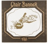 Tin Parade 'Baby' Canvas Chair Banner