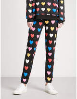 Wildfox Couture Have A Heart cotton-jersey jogging bottoms