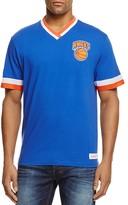 Mitchell & Ness New York Knicks Vintage NBA V-Neck Tee