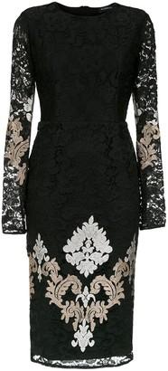 Olympiah lace Lua midi dress