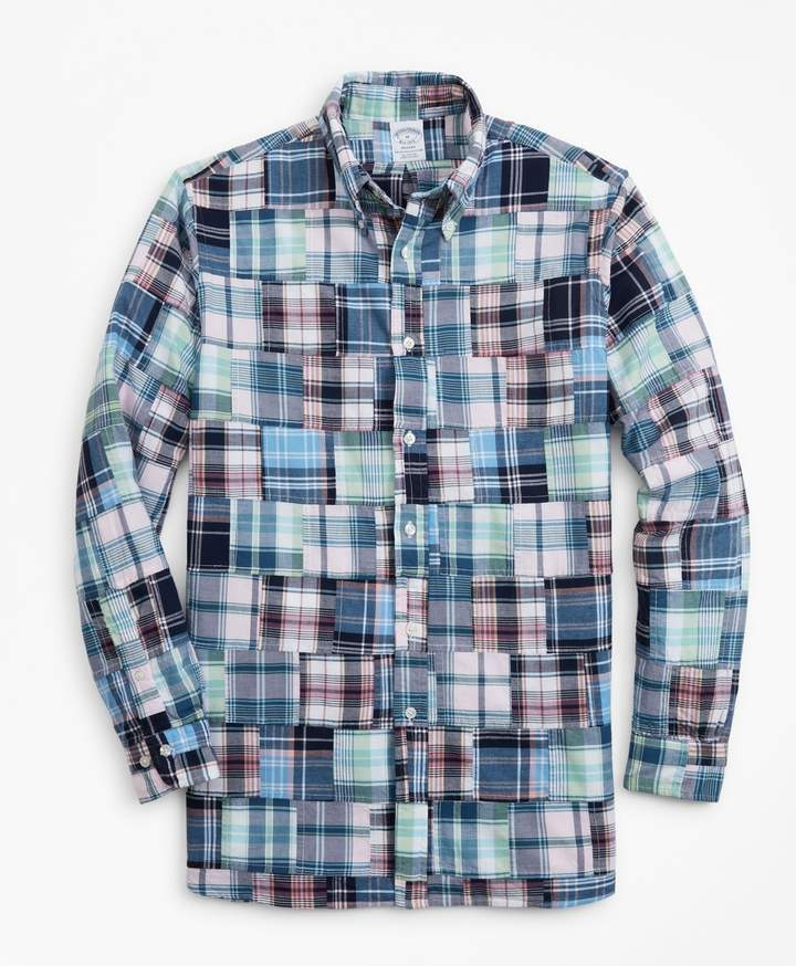 3c5be9aa Fitted Madras Shirt - ShopStyle