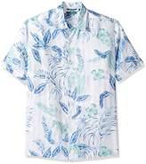 Cubavera Men's Short-Sleeve Doby Shirt