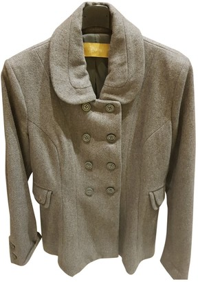 Aniye By Grey Wool Coat for Women