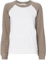 Monrow Two Tone Raglan Sweatshirt