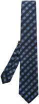 fe-fe check print tie