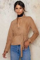 Just Female Wire Suede Jacket