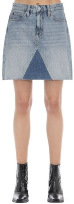 Calvin Klein Jeans Mid-rise Cotton Denim Mini Skirt
