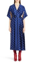 Fendi Women's Drops Print Silk Dress