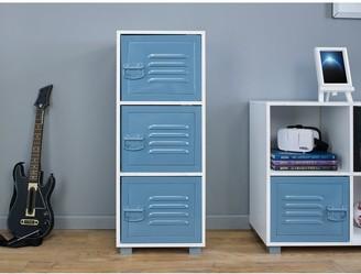 Lloyd Pascal Edison 3 Drawer Cabinet -Blue