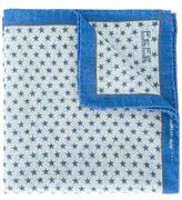 fe-fe micro star pocket square - unisex - Silk/Wool - One Size