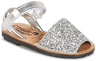 Citrouille et Compagnie SQUOUBEL girls's Sandals in Silver