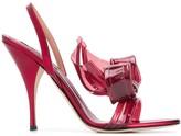 Marco De Vincenzo Large Bow Sandals