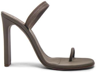 Yeezy Season 6 Rubberized Minimal Slingback Sandals