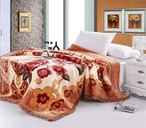 Znzbzt Standard Single and double bed blanket thick double blankets Fall Winter wedding blankets linens blankets