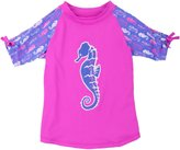 Hatley Short Sleeve Rash Guard-Seahorses-2