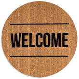 Bloomingville Round Coir Welcome Door Mat