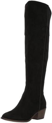 Fergalicious Women's Bata Western Boot Black