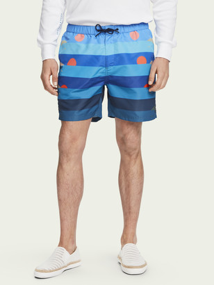 Scotch & Soda All-over printed swim shorts   Men