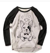 Appaman French Bulldog Graphic Top (Toddler, Little Girls, & Big Girls)