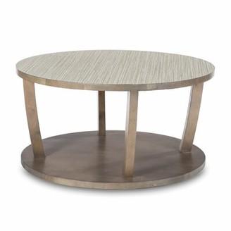 Akin Newport Solid Wood Floor Shelf Coffee Table