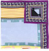 Versace logo foulard scarf - women - Silk - One Size