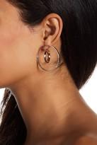 Argentovivo Double Circle Jacket Earrings
