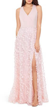Xscape Evenings 3D Floral Gown