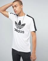 adidas Berlin Trefoil Logo T-Shirt In White Bj9872