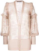Antonino Valenti delicate lace cardigan