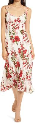 Reformation Embry Floral Midi Dress