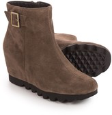 Aerosoles Confidential Wedge Ankle Boots - Suede (For Women)