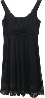 John Galliano Black Cotton Dress for Women