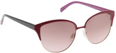 Jessica Simpson Women's J5373 Cateye Sunglasses