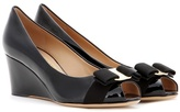 Salvatore Ferragamo Sissi patent leather wedges