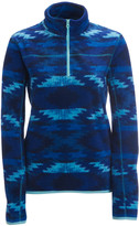Printed Half-Zip Fleece Jacket