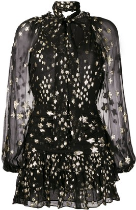 LoveShackFancy Rina metallic stars dress