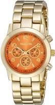 Valletta Women's FMDCT522A Analog Display Quartz Gold Watch
