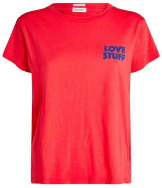 Mother The Boxy Goodie Goodie Love Stuff T-Shirt