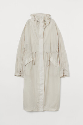 H&M Long nylon windbreaker
