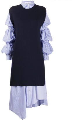 Enfold Lonst layered dress