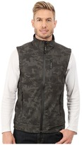 Roper Printed Camo On Soft Shell Vest