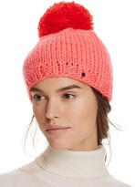 Kate Spade Hand Knit Color Block Beret